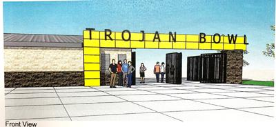 Trojan Bowl Entrance