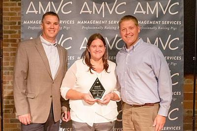 Winslow Is Named AMVC Sow Farm Manager Of The Year