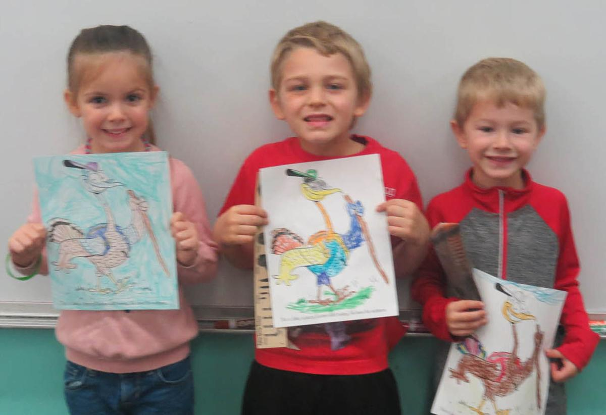 Turkey Coloring Contest Winners