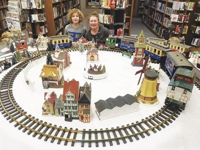 Train and Village Display