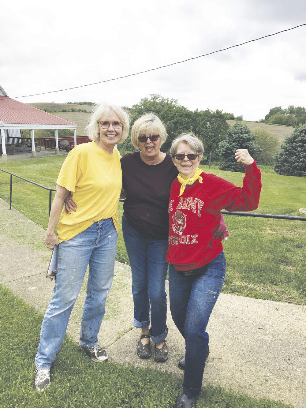Nicki Wiederstein and dedicated volunteers