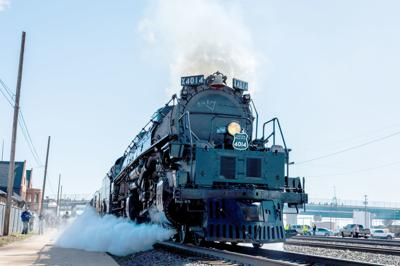 Big Boy Steam Train