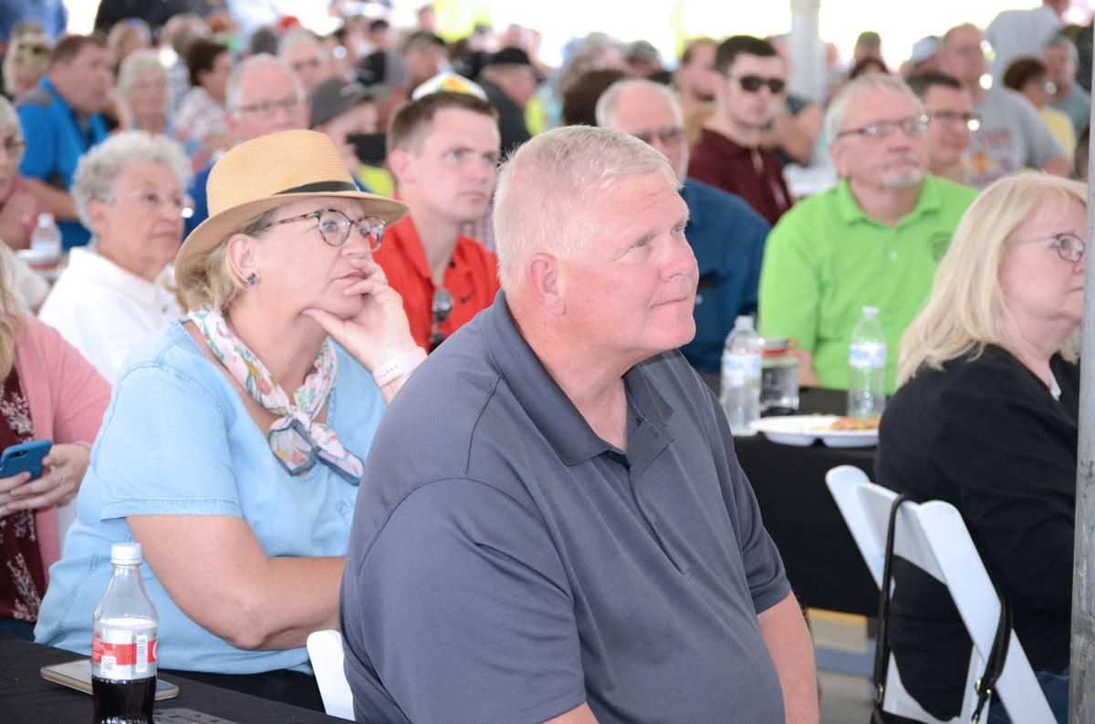 The public at the Elite Ethanol Plant Grand Opening