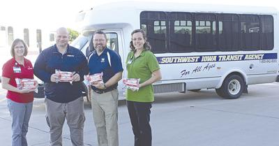 Cass County Public Health Delivers Stop the Bleed Kits to SWITA