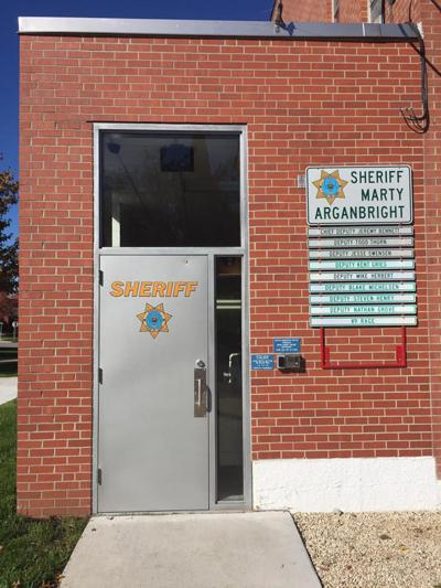 New jail needed: Sheriff's Department entrance
