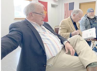 Moore, Shipley Talk Flooding, Health Care At Legislative Coffee