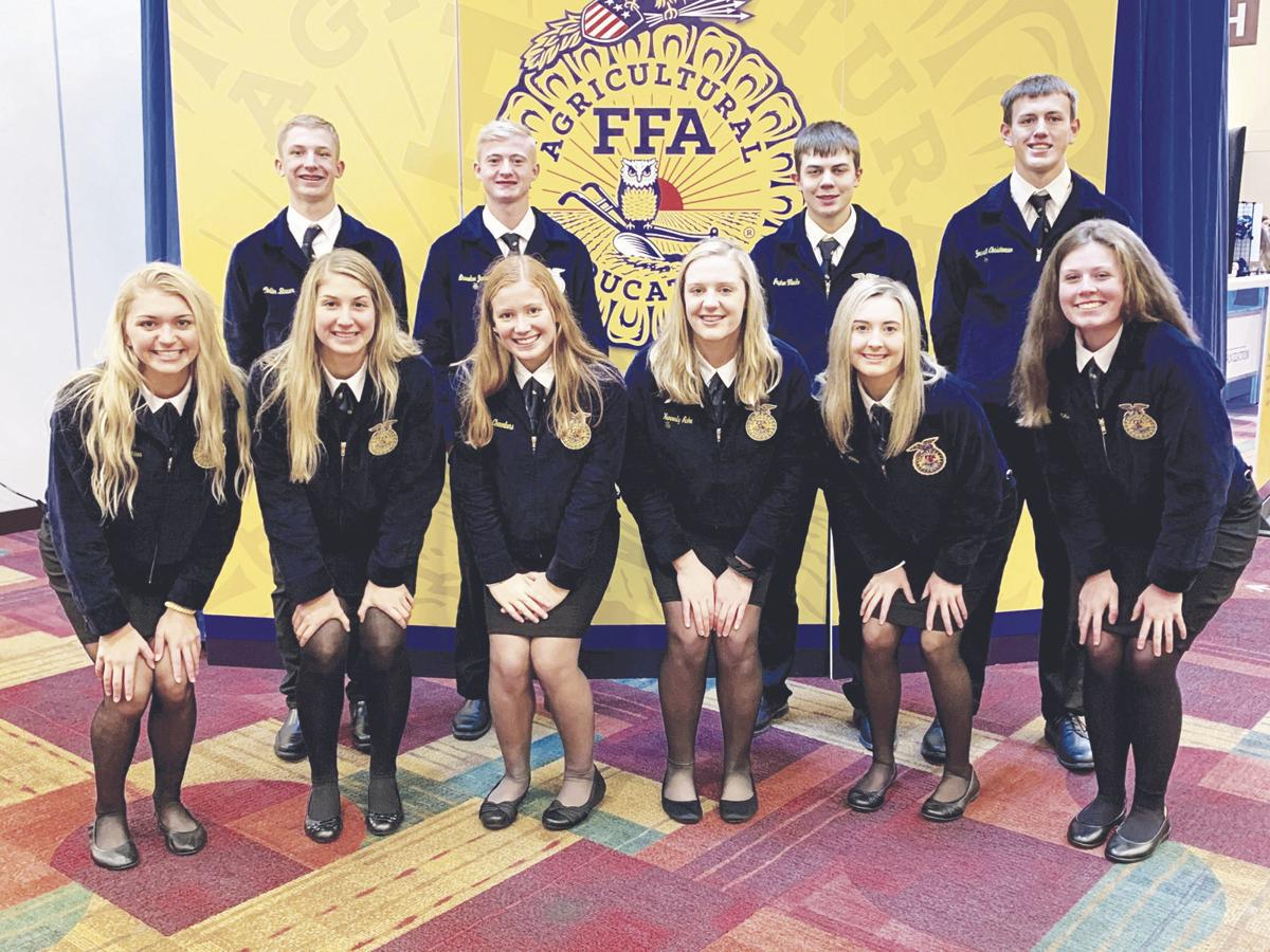 Audubon FFA Members at the National FFA Convention and Expo