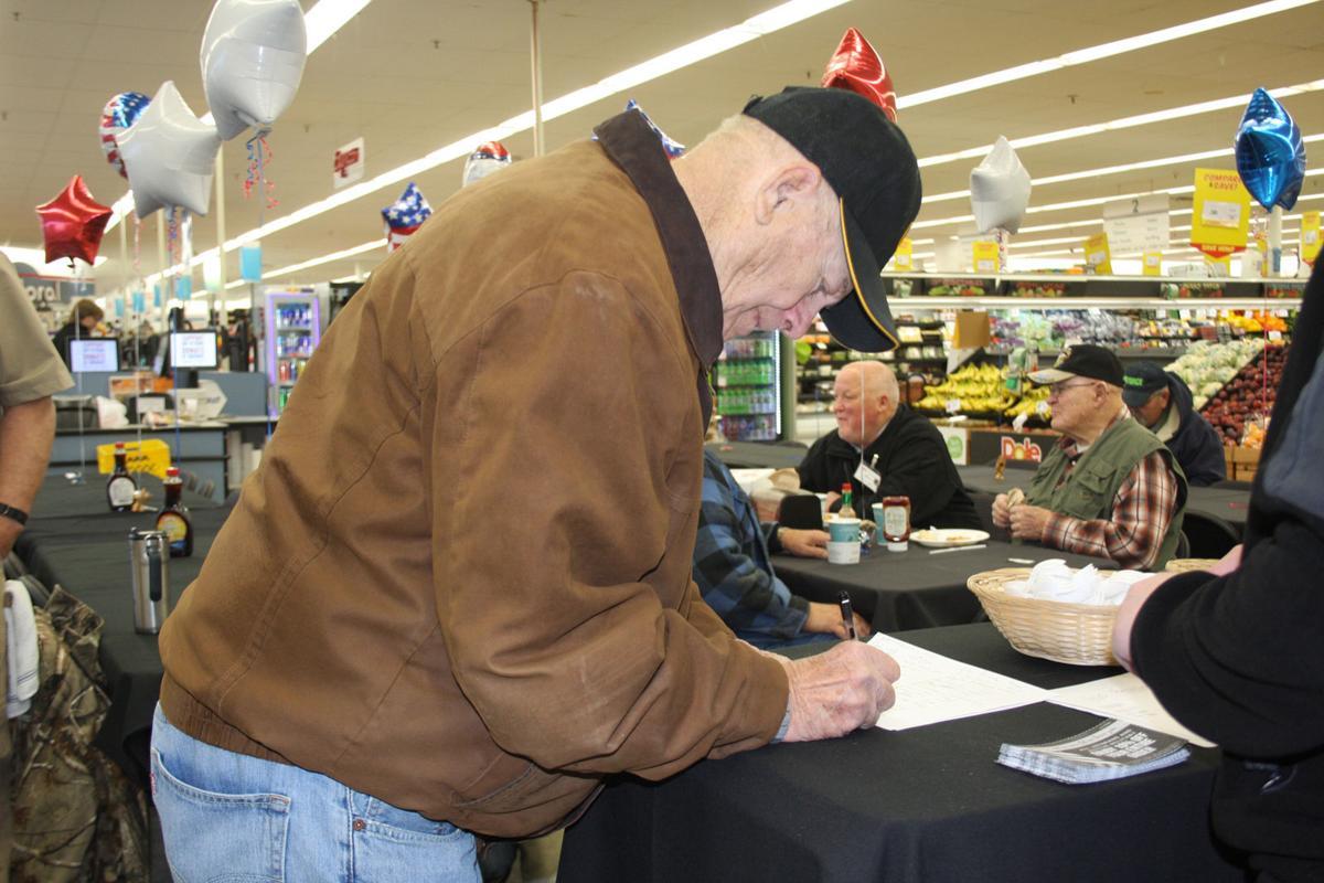 Veteran signing in