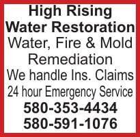 High Rising Water Restoration