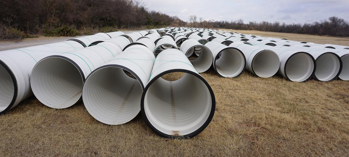 New Sewer Pipe at 38th and Lee