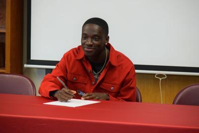 Joshua Bour signing