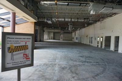 Great Plains culinary arts area ready for construction