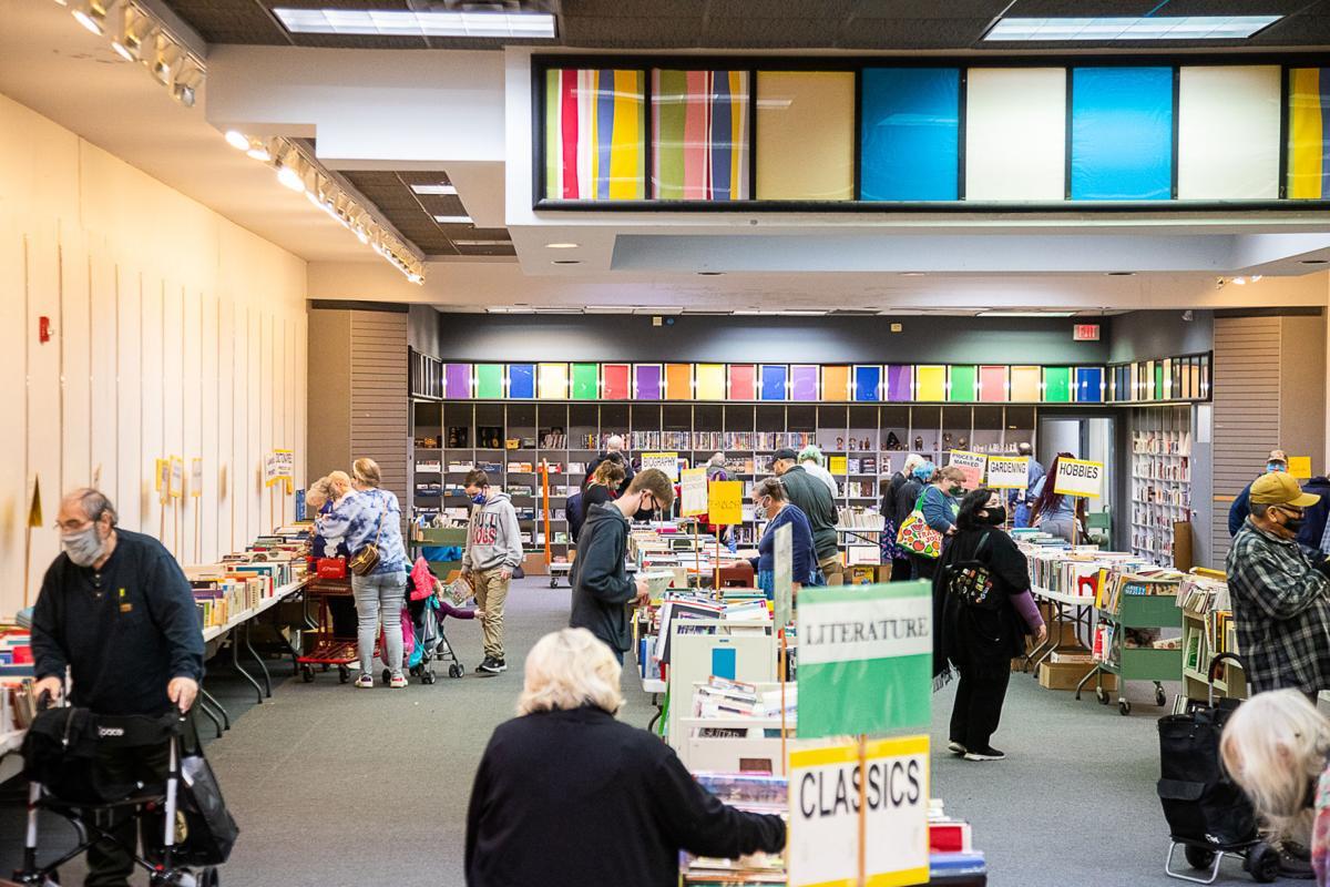 Lawton Public Library book sale