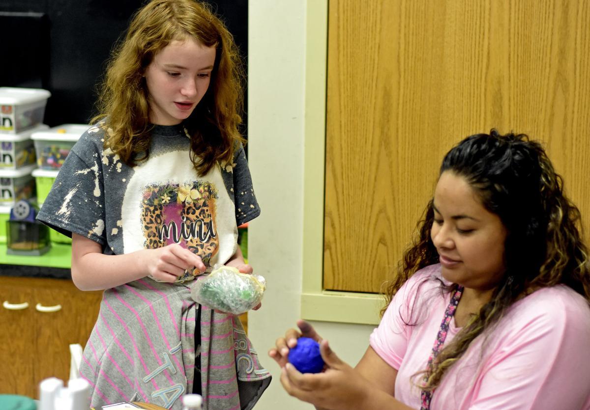 Lawton summer school students eggcited for cracking eggsperiment