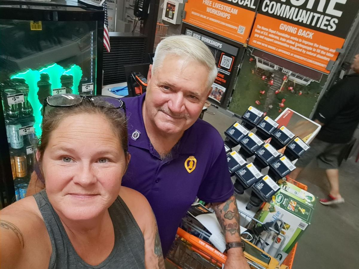Home depot Foundation award $1,600 grant for cemetery cleanup