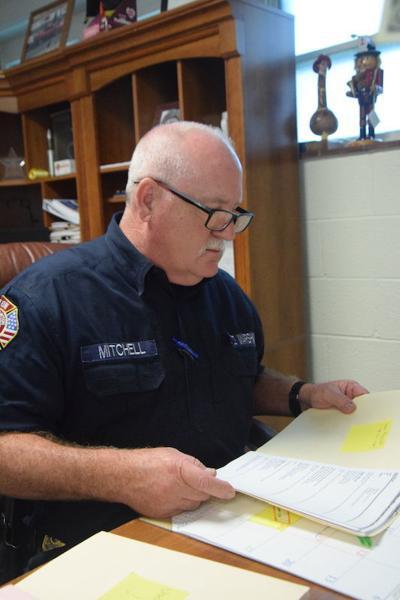 Fire. Marshal Mark Mitchell