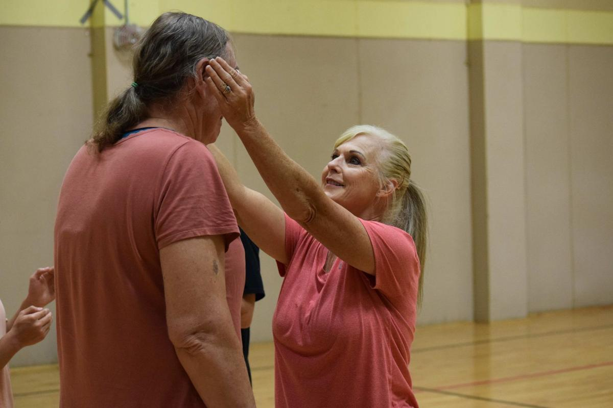 Self Defense class at the Patterson Community Center