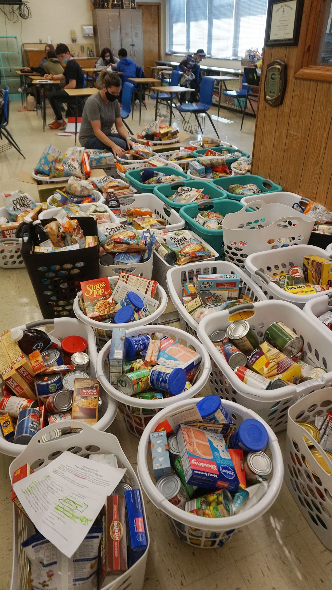 Baskets for those in need