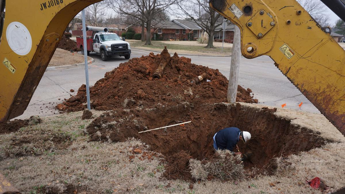 New Pipes for residential area in Lawton