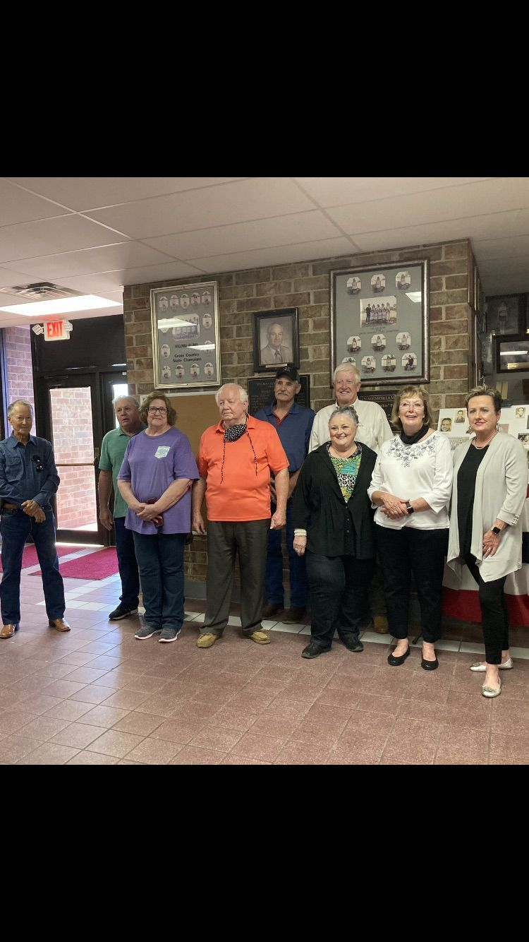 Velma-Alma class of 1964 honored 'Dickie' Perdue Friday