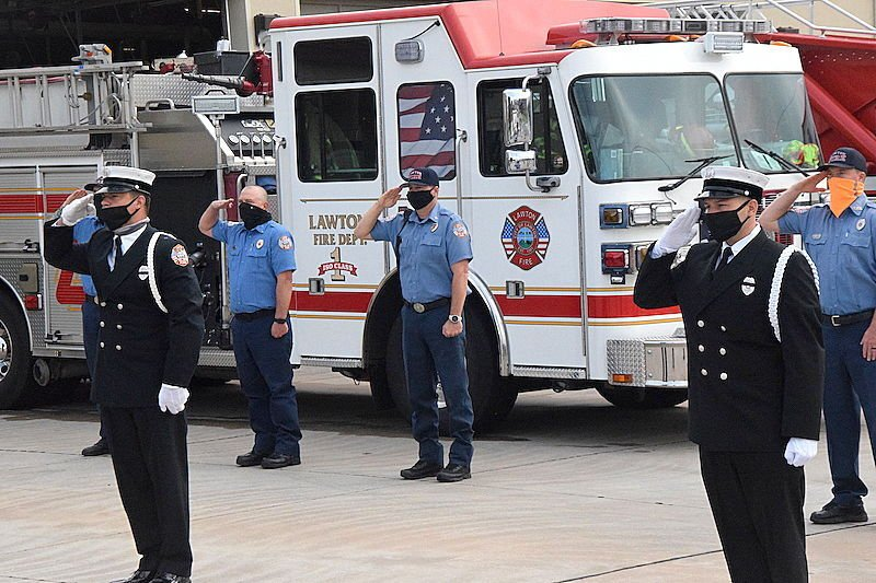 9/11 ceremony to first responders
