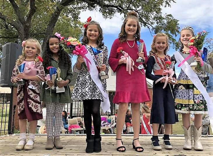 2018 Cotton Festival and Chili Cook-off pageant winners