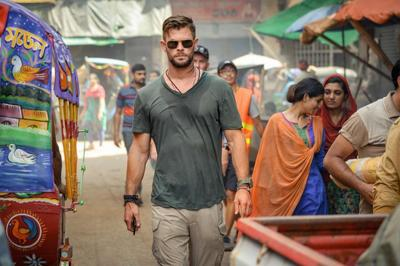 "Chris Hemsworth in""Extraction"""