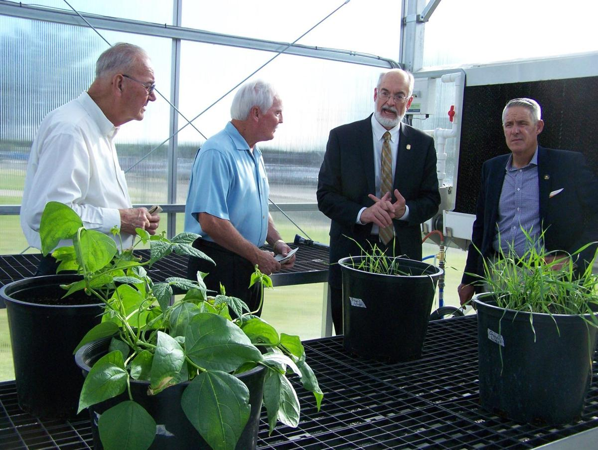 Cameron University Greenhouse