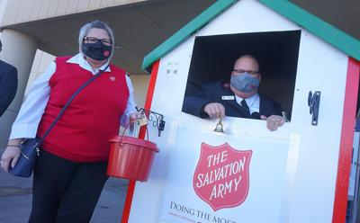 The Salvation Army is looking for bell ringers