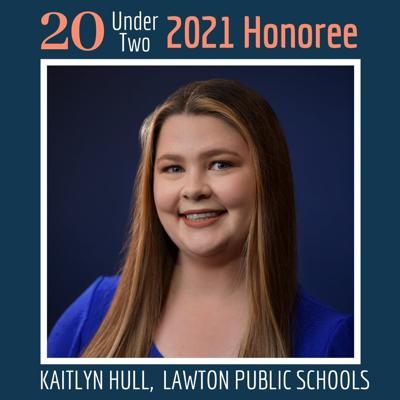 Lawton Public Schools teacher honored in 20 Under 2 list
