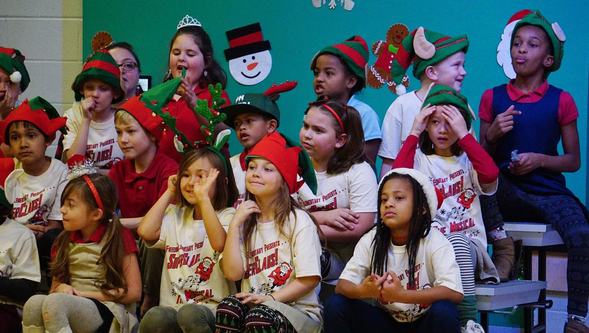 Freedom elementary Christmas school program