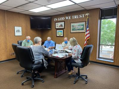 Commissioners Annexation meeting
