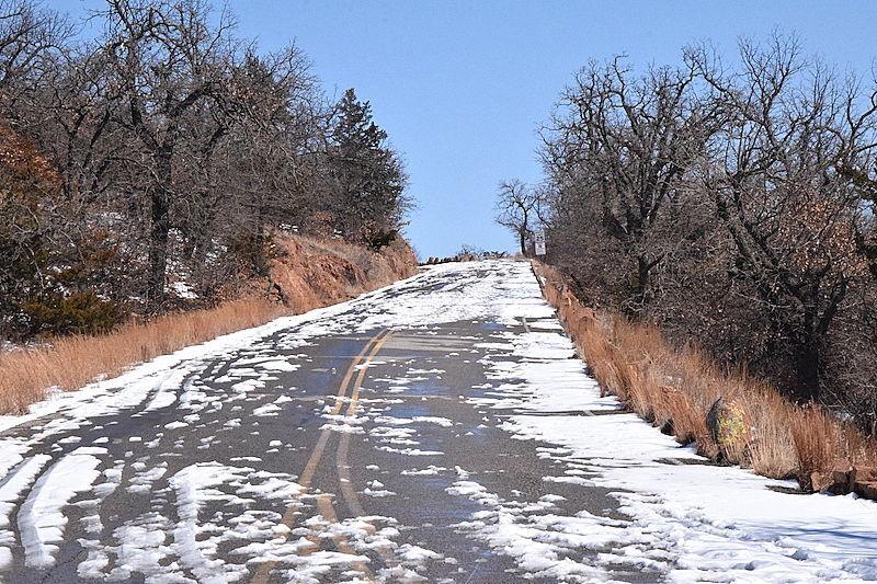 Wichita Mountains thaw