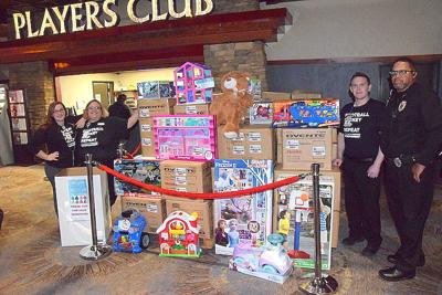 Comanche Nation Gaming toy drive