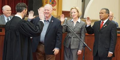 New City of Lawton Council members take oath