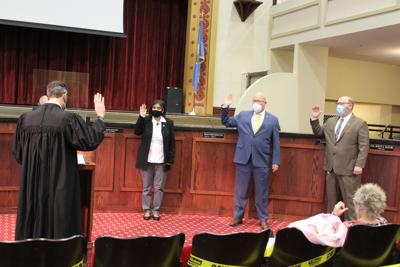 Council members sworn into office