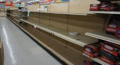 Supplies running out