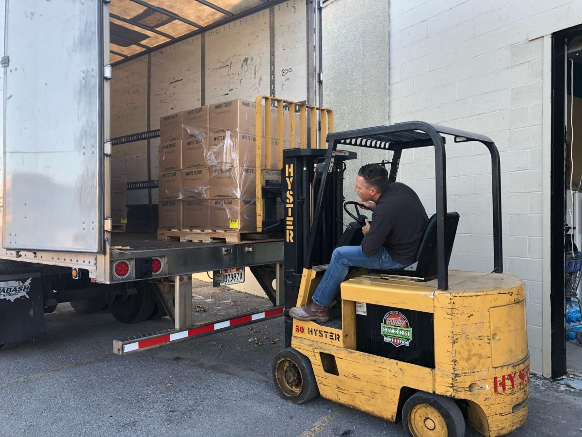 Hungry Hearts Feeding Ministry receives large food donation