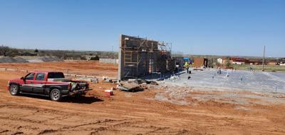 Construction at Kiowa COVID-19/Senior Activity Center