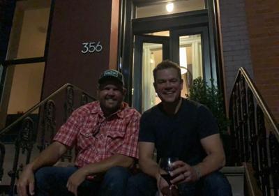 Baker and Damon in New York