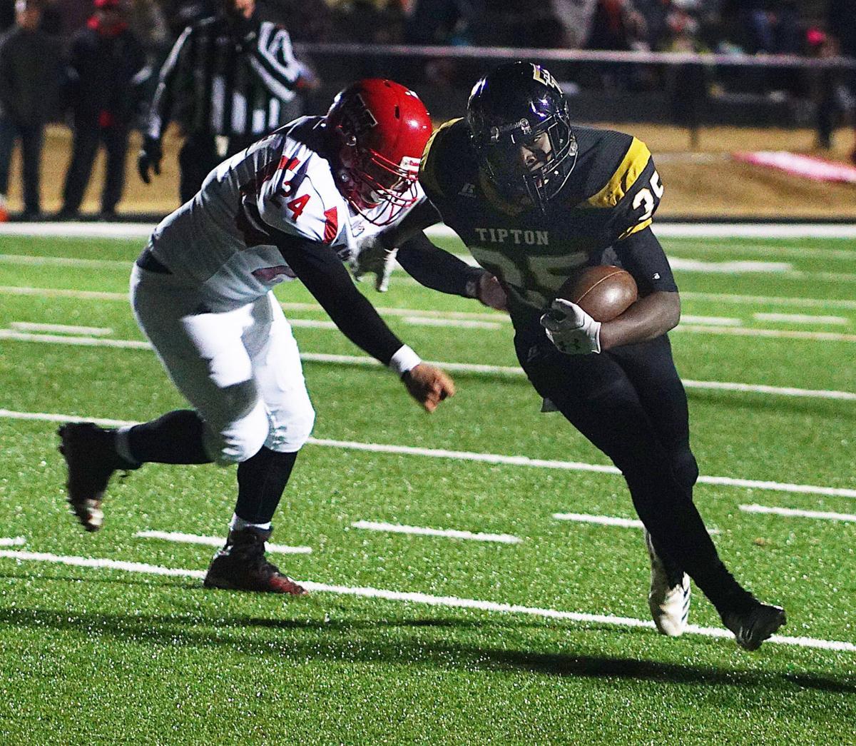 Tipton touchdown