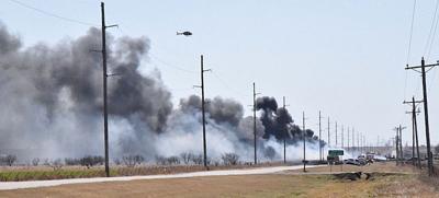 Survival Flight arrives to fiery crash