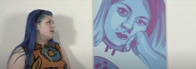 Former Cache student exhibiting work virtually through USAO