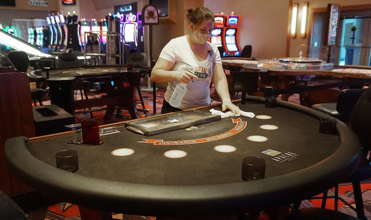 Apache Casino to reopen