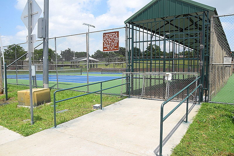 Greer Park tennis courts