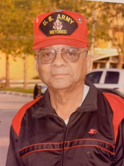 Retired, Army Command Sergeant Major George C. Rogers, Jr.