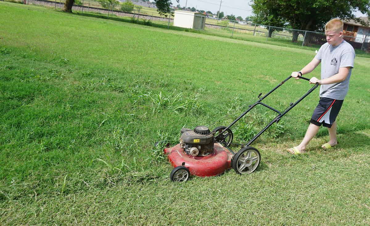 Summer time mowing
