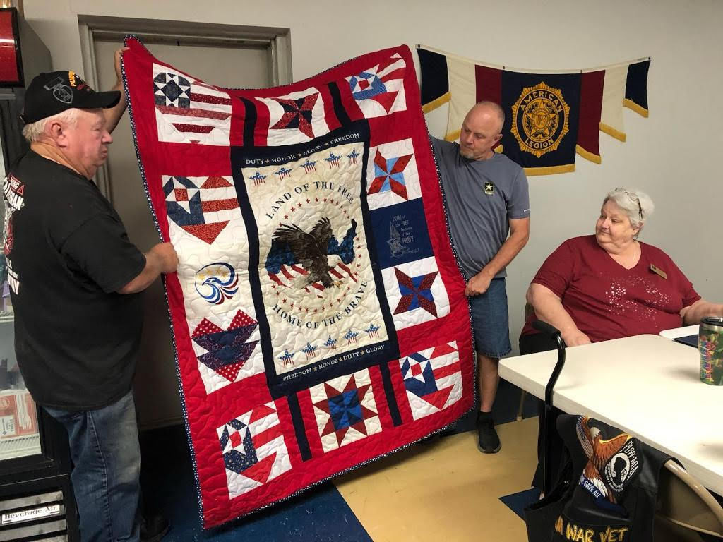 Donna McCormack Quilts of Valor