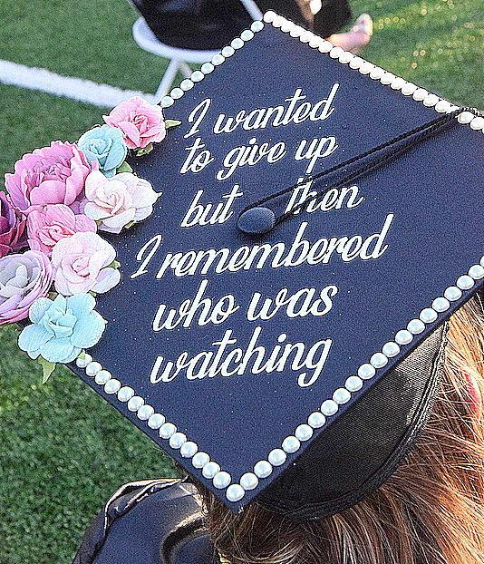 Cameron University Spring 2021 graduation ceremony
