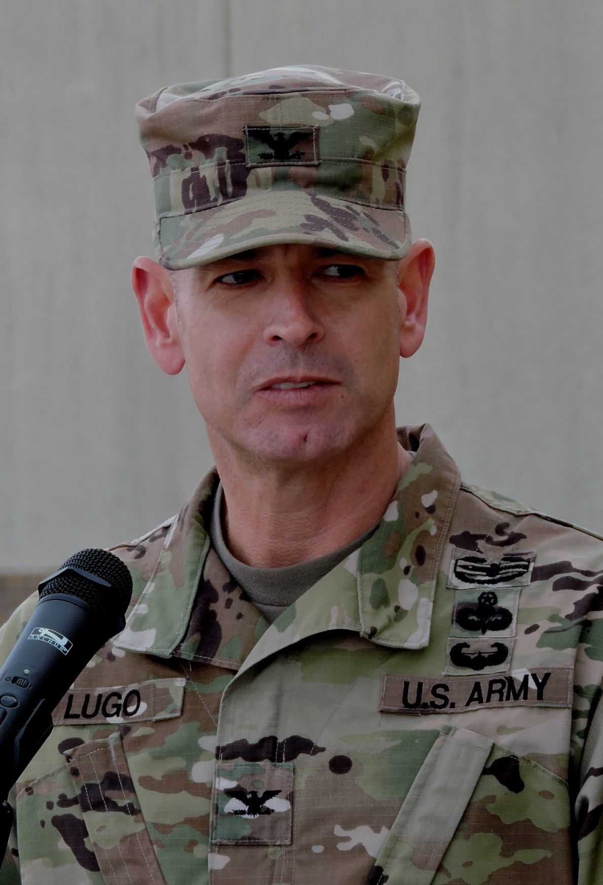 Col. Anthony Lugo